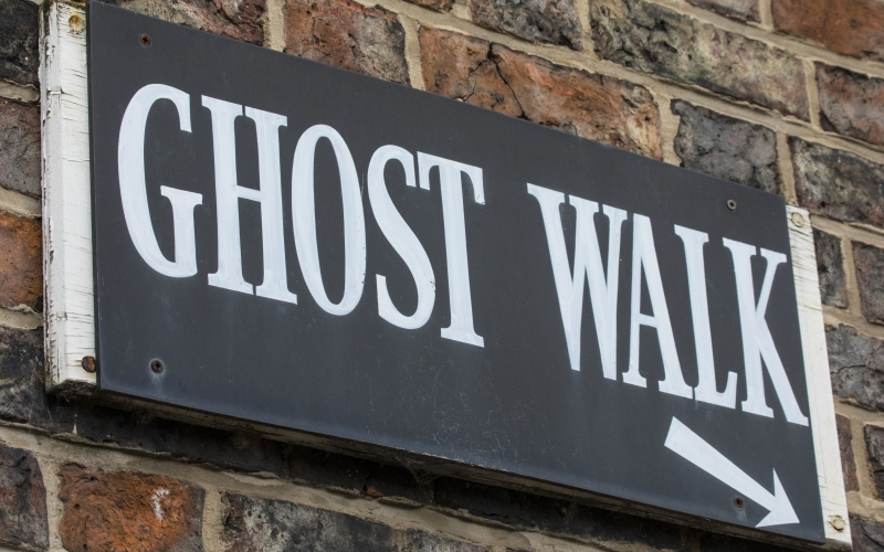The Ghost Walk of York